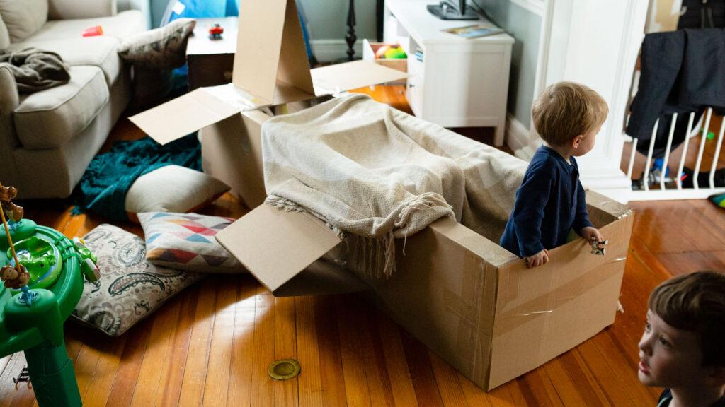 Blanket Den Kids - Top 10 Tips For Entertaining Your Child In COVID-19 Lockdown