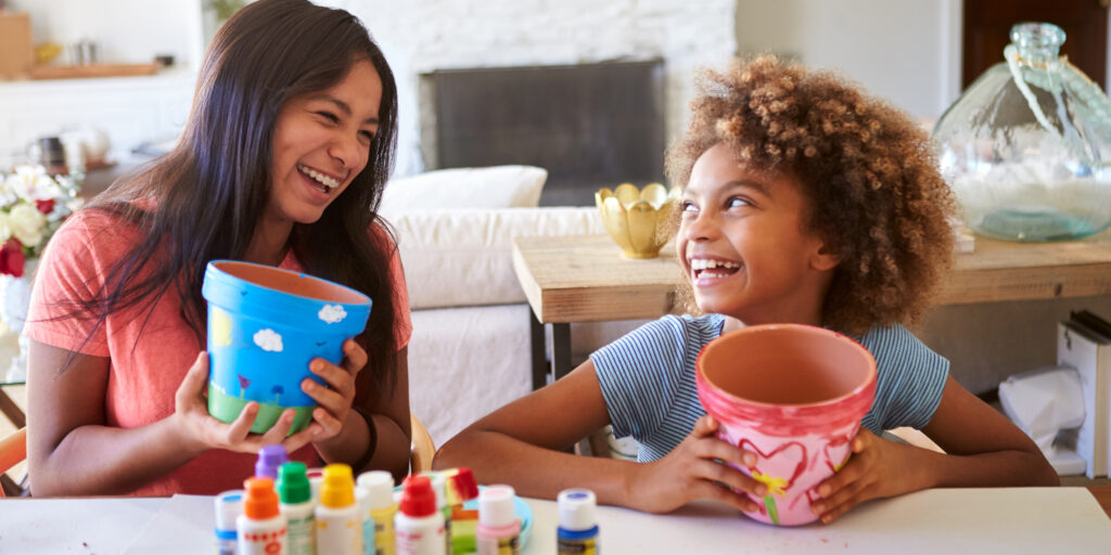 Laughing The Children - Top 10 Tips For Entertaining Your Child In COVID-19 Lockdown