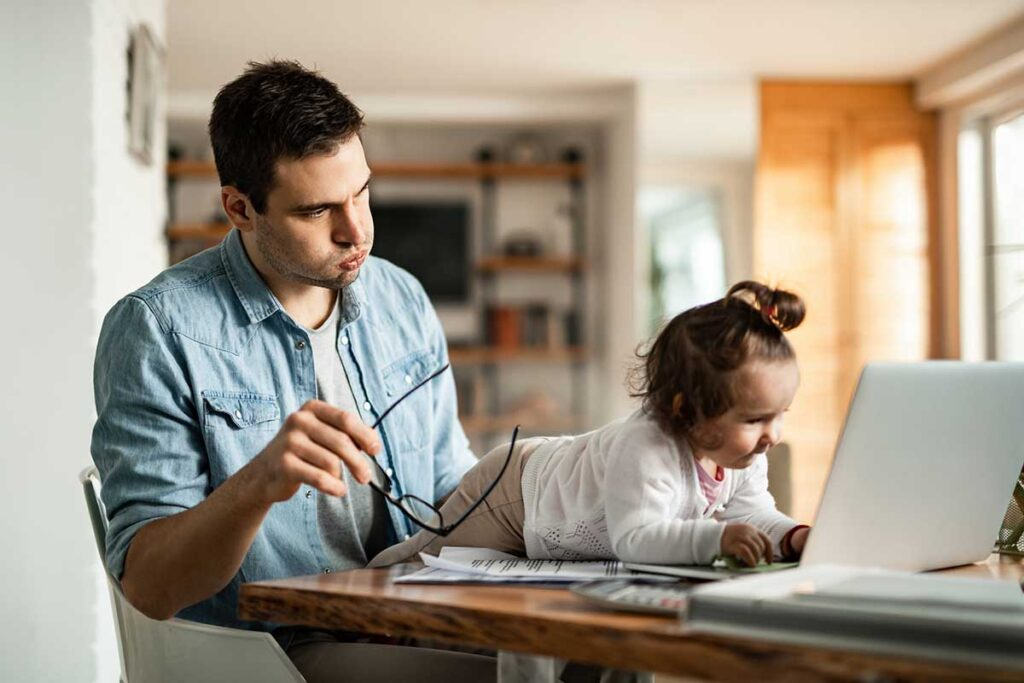 Working From Home - Top 10 Tips For Entertaining Your Child In COVID-19 Lockdown